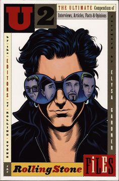 U2 the Rolling Stone Files:  Ah, even cartoon versions of the guys.  #U2 ❤️ And✌️ Or Else  ✈️