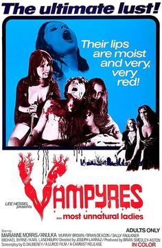 Vampyres - 1974 - Movie Poster