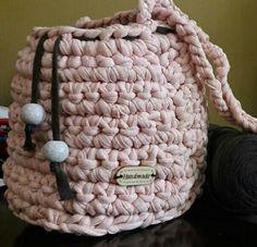 Tshirt yarn handbag slingbag