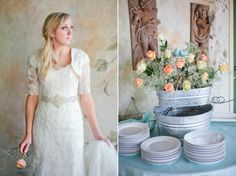Romantic garden Mesa LDS temple wedding | Kimbry Studios Blog