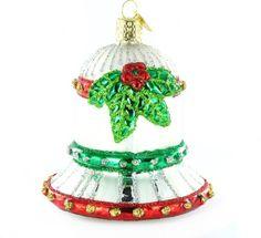Old World Christmas Holiday Bell Christmas Ornament