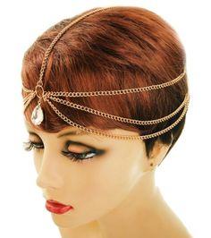 Head Chain - Gold color / AZFJHP028-GLD Arras Creations http://www.amazon.com/dp/B00BPYP68Q/ref=cm_sw_r_pi_dp_-vm6ub0QWXXHW