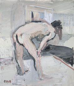 Eilif Amundsen: Nude Chantal Joffe, Painters, Portraits, Nude, Fine Art, Gallery, Drawings, Roof Rack, Head Shots