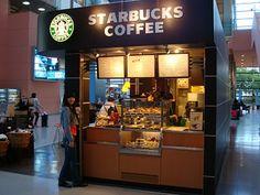 Starbucks Kiosk in Narita