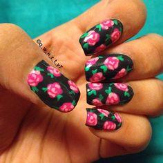 Instagram photo by q_w_e_r_t_y7  #nail #nails #nailart