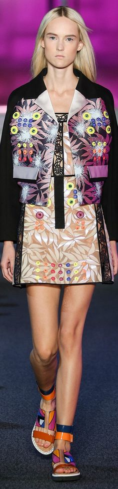 Peter Pilotto Collection Spring 2015   The House of Beccaria~