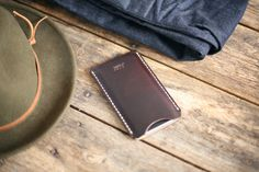 J. Stark Lookbook  Carroll iPhone 6 Sleeve in Mulch Horween