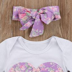 a2bc4cd5ed2e Amazon.com  Caibiet Toddler Baby Girl Floral Long Sleeve Bodysuit Romper  and Bowknot Skirt With Headband Infant 3Pcs Clothes SE (18-24 Months