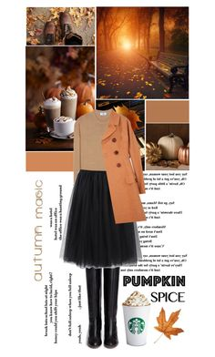 """""""Autumn Magic"""" by jleigh329 ❤ liked on Polyvore featuring Prada, Chloé, Comme des Garçons and Charles Anastase"""