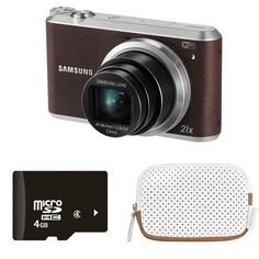 Other Digital Cameras - Samsung Smart WiFi Digital Camera with Card and Case (Brown) was listed for on 12 Nov at by NearAndFar in Johannesburg Wifi, Lens, Samsung, Digital Cameras, Brown, Cards, Stuff To Buy, Ebay, Walmart