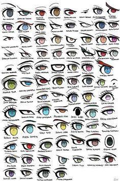 'Danganronpa Eyes' Poster by Quixilvrr - drawing tips Pencil Art Drawings, Art Drawings Sketches, Cute Drawings, Drawings Of Clothes, Manga Clothes, Easy Hair Drawings, Drawings Of Eyes, How To Draw Clothes, Eye Drawing Tutorials