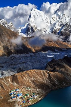 Gokyo Village, Sagarmatha National Park, Nepal.
