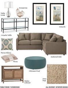 JILL SEIDNER | INTERIOR DESIGN: Concept Boards love this Savannah, Ga look