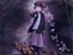Serial Experiments Lain #Anime #AnimeGirl #AnimeArt #Illustration #Yoshitoshi_ABe