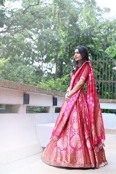 Photo from Tunisha & Siddhant Wedding Summer Wedding Outfits, Bridal Outfits, Wedding Attire, Wedding Dresses, Wedding Events, Indian Fashion Dresses, Indian Outfits, Sabyasachi Lehenga Bridal, Blue Lehenga