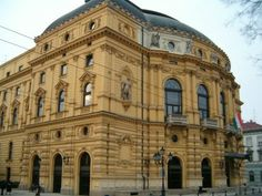 The National Theatre of Szeged Operahouse Budapest, Great Plains, National Theatre, European Travel, Homeland, Hungary, Notre Dame, Opera House, Southern