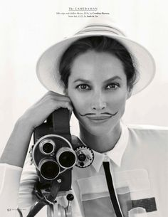 Christy Turlington could have a penis and still get me hot and bothered.
