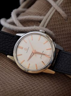 6e4b338af6e8 Vintage OMEGA Seamaster Dress Watch In Stainless Steel