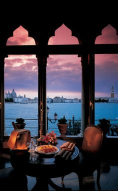 View from Prestige Suite, Belmond Hotel, Venice, Italy