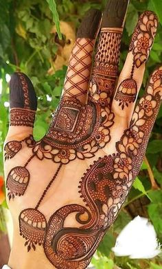 Wedding Mehndi Designs For Beautiful Brides - Mehndi Designs 2020 Modern Henna Designs, Peacock Mehndi Designs, Mehandhi Designs, Mehndi Designs Feet, Mehndi Designs Book, Full Hand Mehndi Designs, Mehndi Designs 2018, Stylish Mehndi Designs, Mehndi Designs For Beginners