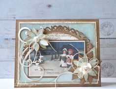 scrapcards from wybrich: christmas