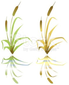 Cattail stencil templates | Craft Ideas | Pinterest | Stencil ...
