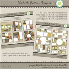 Michelle Batton has extended her stay at The Digichick another month and has added more classic products to her store for their 30% off sale running May 3-6.  And be sure to check out her new release, Paper Blocks Ones and Twos Collab Bundle which will be on sale for just $7 through May 9.
