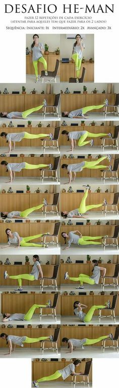 Home exercises for Woman