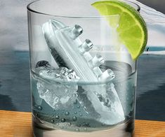 Add a touch of class to every drink with the Titanic ice cube mold, and relive the glorious failure that was the Titanic. Included in this offensively clever ice cube kit are the molds for the Titanic ship itself as well as and the merciless iceberg.