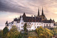 Neuchâtel Castle Switzerland