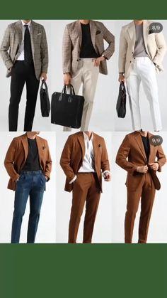 Best Mens Fashion, Mens Fashion Suits, Mens Suits, Stylish Men, Men Casual, Casual Outfits, Suit Combinations, Men Blazer, Beige Blazer