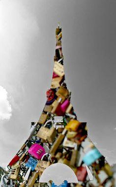 """Cosas de franceses.""  Silvia Juan Bernabeu 2015. Photoshop."