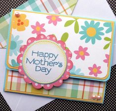 "Gift Card Holder: Mother's Day - ""Pastel Blossom"""