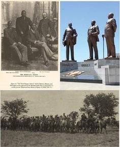 In 1895, concerned Rhodes & BSAC wanted to take Bechuanaland protectorate. The 3 chiefs - Khama, dikgosi Sebele, & Bathoen went to England & met Secretary of State for Colonies, Joseph Chamberlain. They also met Queen Victoria. A deal was agreed, where BSAC got a strip of land for railway and rest of land to remain a protectorate. Rhodes was extremely angry with the decision, and some doubt whether the British would have honoured the agreement if Jameson Raid had taken place soon after.