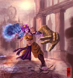 VI monk type by elartwyne on DeviantArt