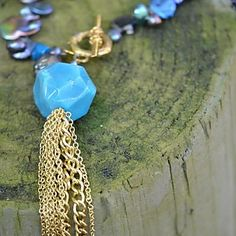 Blue Necklace | Marquin Designs #madeinthesouth