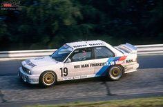 Winners of the 24 Hours Race at the Nürburgring – 1990: Heger/Winkelhock/Schmickler - Linder-BMW M3