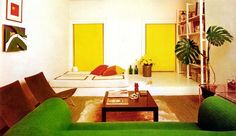 from the House & Garden Guide to Interior Decorating, The Conde Nast Publications London, 1967
