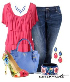 Cute plus size outfits for summer