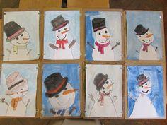 Játékos tanulás és kreativitás: Rajzoljunk hóembert!