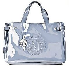 da777031d4 Armani Jeans Kelis Diamante Grey Womens Shoulder Bagg
