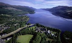 Fort Augustus & Loch Ness, my husbands old home