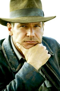 Young Harrison Ford as Indiana Jones! Who doesn't like Harrison Ford? He's a movie legend! I Movie, Movie Stars, Harrison Ford Movies, Henry Jones Jr, Indiana Jones Films, Georgia, Film Serie, Best Actor, Hollywood Stars