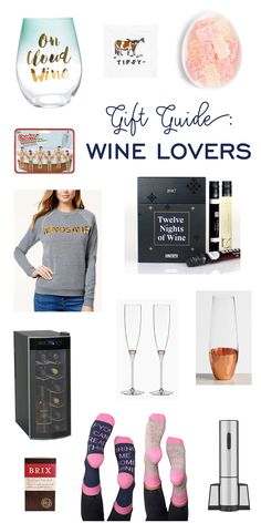 A list of thoughtful gifts for wine lovers that they will enjoy all year long. Click above to see the best wine gift ideas for the holiday season! Gifts For Wine Drinkers, Gifts For Wine Lovers, Wine Gifts, Cute Wine Glasses, Wine Jokes, Unique Mothers Day Gifts, Holiday Side Dishes, Wine Reviews, Toddler Gifts