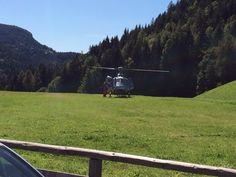 Helicopter Flight with bride and groom wedding near St. Kathrein Church Boutique Hotel