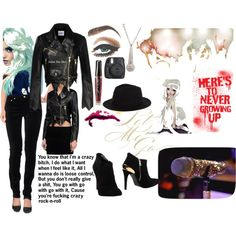 #46 by salemvandort on Polyvore featuring polyvore, moda, style, Love Moschino, Rusty, TONYMOLY and Abbey Dawn