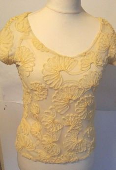 Zara Basic Pretty Floral Tunic Top 3/4 Sleeve Size s #ZARA #Blouse