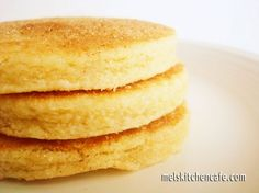 Welsh breakfast cakes. I prefer them without the nutmeg. I felt like I was eating sugar cookies for breakfast.  *Be sure to flour the surface you roll these out on though.