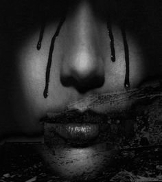Crying blood from her heart. Crying Blood, Blood Tears, Matt Goss, Life Without You, Sad Wallpaper, Sad Art, Sombre, Art Google, At Least