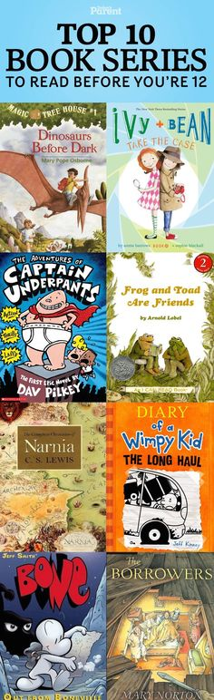 Book series for kids. Loved these.